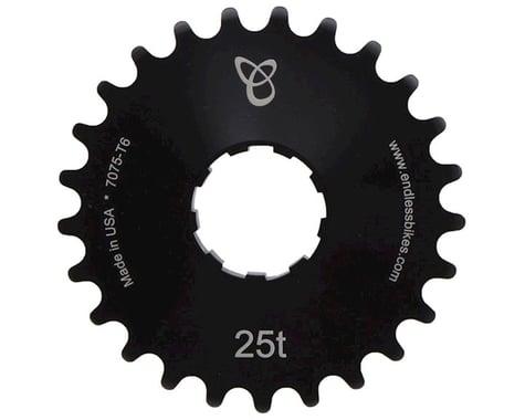 Endless Bike Anodized Kick Ass Cog (Black) (25T)