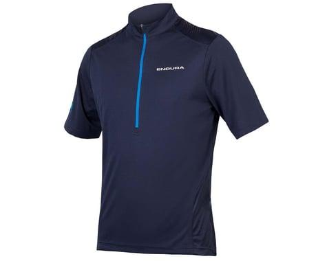 Endura Hummvee Short Sleeve Jersey (Blue) (XL)