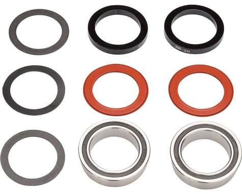Enduro Stainless Steel Bottom Bracket (Silver) (BB92)
