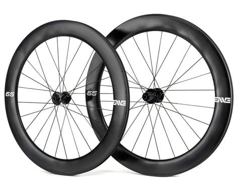 Enve 65 Foundation Series Disc Brake Wheelset (Black) (Shimano 11 Speed) (700c) (12 x 100, 12 x 142mm)