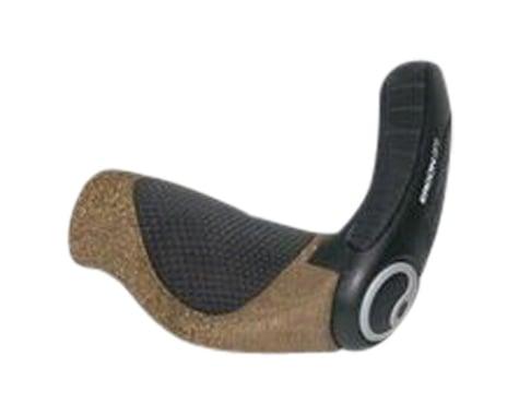 Ergon GP3-L BioKork Rohloff/Nexus Grips (Black/Tan) (Large)