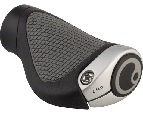 Ergon GP1 Gripshift Grips (Black/Grey) (S)