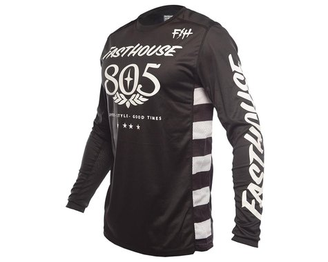 Fasthouse Inc. Classic 805 Long Sleeve Jersey (Black) (L)
