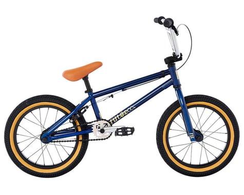 "Fit Bike Co 2021 Misfit 16"" BMX Bike (16.25"" Toptube) (Trans Navy Blue)"