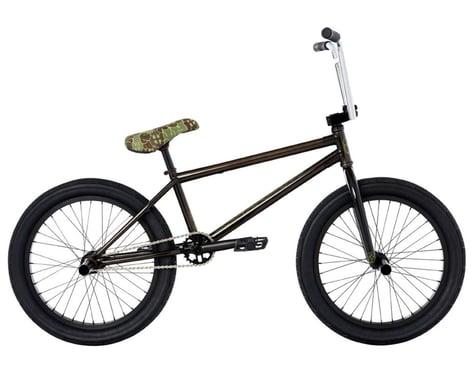 "Fit Bike Co 2021 STR BMX Bike (LG) (20.75"" Toptube) (Trans Black)"