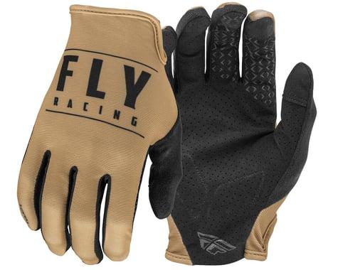 Fly Racing Media Gloves (Khaki/Black) (S)