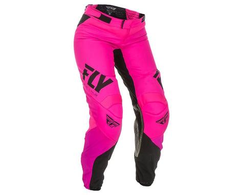 Fly Racing Women's Lite Race Pants (Neon Pink/Black) (0/2)