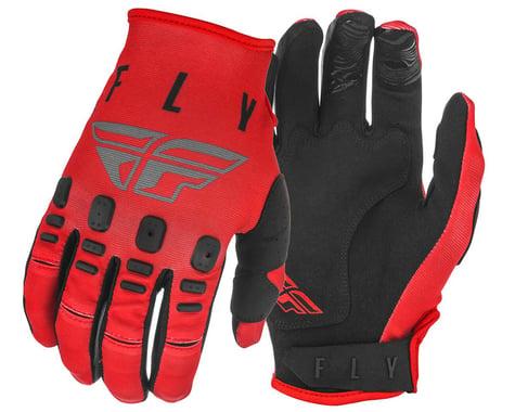 Fly Racing Kinetic K220 Gloves (Red/Grey/Black)