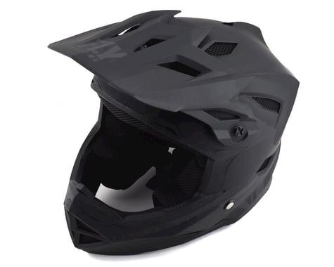 Fly Racing Default Full Face Mountain Bike Helmet (Matte Black/Grey)