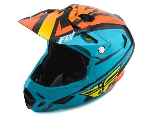 Fly Racing Werx Rival MIPS Helmet (Teal/Orange/Black) (M)