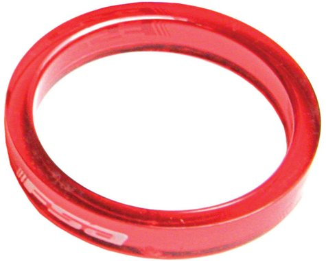 """FSA PolyCarbonate Headset Spacers (Red) (1-1/8"""") (10) (5mm)"""