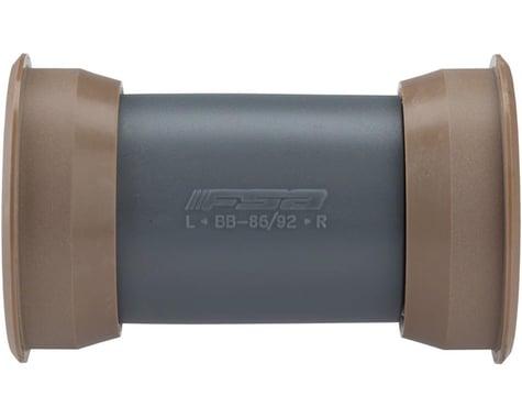 FSA MegaExo Carbon ARC Road Bottom Bracket (Grey) (BB89.5/92)