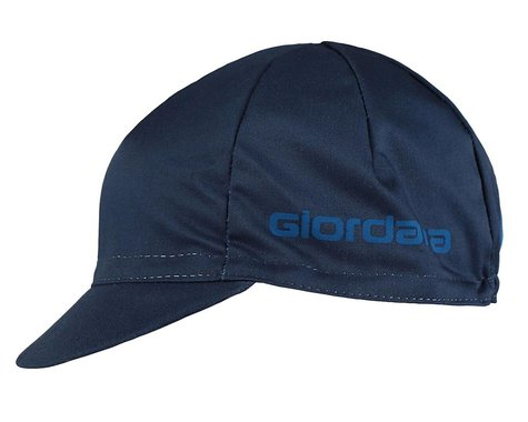 Giordana Solid Cotton Cycling Cap (Navy) (One Size Fits Most)