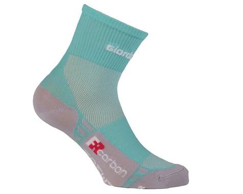 Giordana FR-C Women's Mid Cuff Sock (Mint/White) (S)