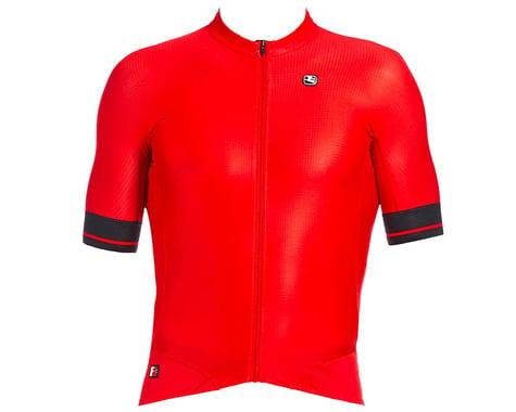 Giordana Men's FR-C Pro Short Sleeve Jersey (Cherry Red/Black) (S)