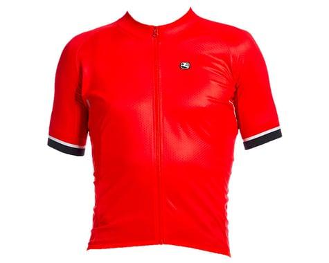 Giordana SilverLine Short Sleeve Jersey (Red) (S)