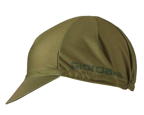 Giordana Mesh Cycling Cap (Oilve Green) (One Size Fits Most)