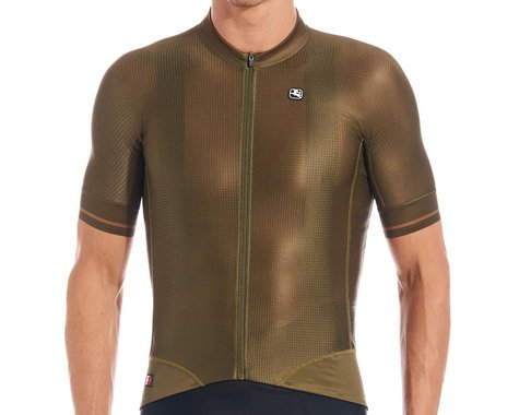 Giordana Men's FR-C Pro Short Sleeve Jersey (Olive Green) (S)