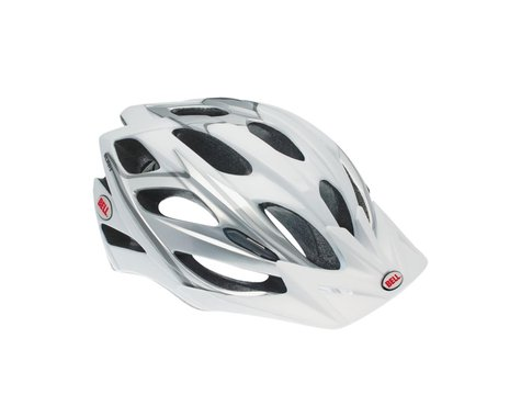 "Giro Bell Slant Sport Helmet - Closeout (Silver/White) (Adult Universal 21.25-24"")"