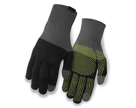 Giro Merino Wool Bike Gloves (Grey/Black) (S/M)
