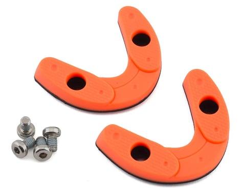 Giro Road Heel Pad Set (Flourescent Orange) (43-44.5)