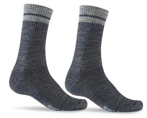 Giro Winter Merino Wool Socks (Charcoal/Grey) (S)