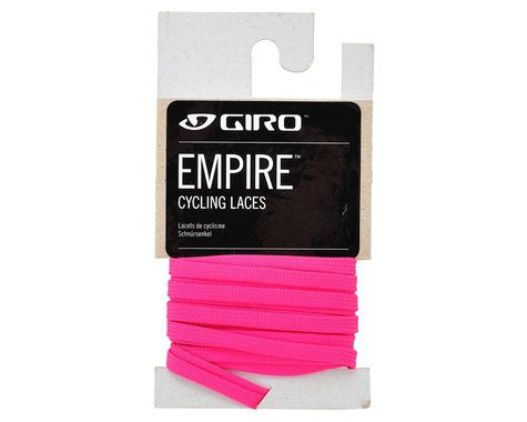 """Giro Empire Laces (Coral Pink) (54"""")"""