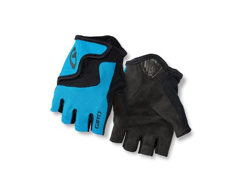 Giro Bravo Jr Gloves (Blue/Black) (Youth L)