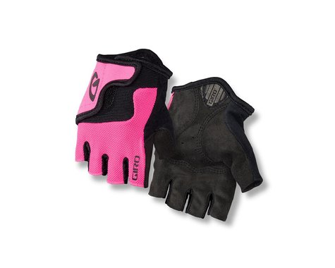 Giro Bravo Jr Gloves (Pink/Black) (Youth XS)