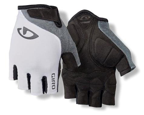 Giro Jag'ette Women's Gloves (White/Titanium) (L)