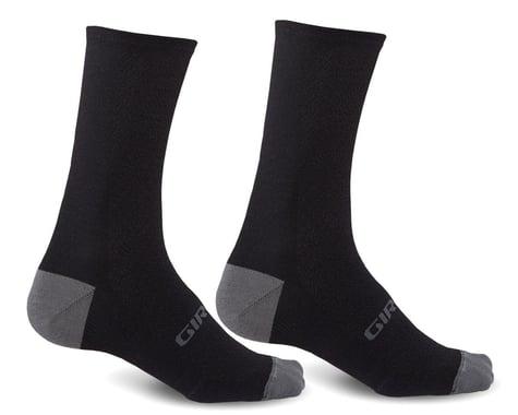 Giro HRc+ Merino Wool Socks (Black/Charcoal) (S)