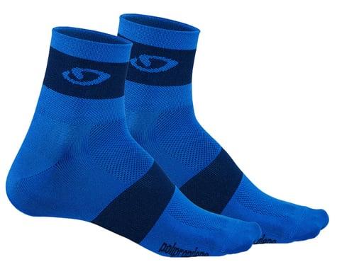 Giro Comp Racer Socks (Blue/Midnight) (L)