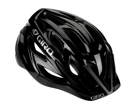 "Giro Rift Sport Helmet - Nashbar Exclusive (Gloss Black) (Univ Adult 21.25-24"")"