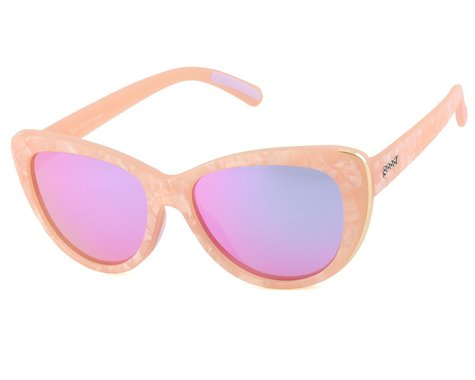 Goodr Runway Cosmic Crystals Sunglasses (Rose Quartz Bypass)