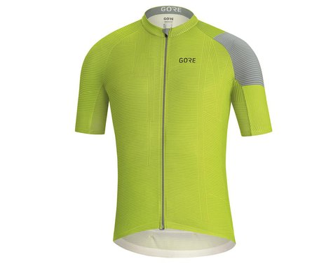Gore Wear C3 Line Jersey (Citrus Green/Nordic Blue) (S)