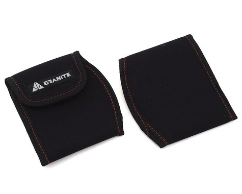 Granite-Design Pita Pedal Cover (Black) (S)