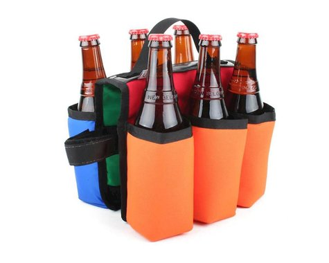 Green Guru Sixer 6-Pack Insulated Top Tube Holder (Color Varies)