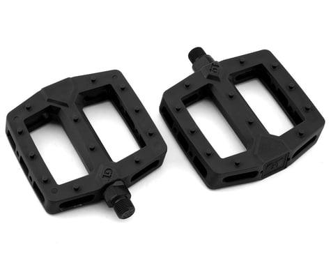 "GT PC Logo Pedals (Black) (Pair) (9/16"")"