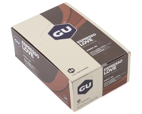 GU Energy Gel (Espresso Love) (24 1.1oz Packets)