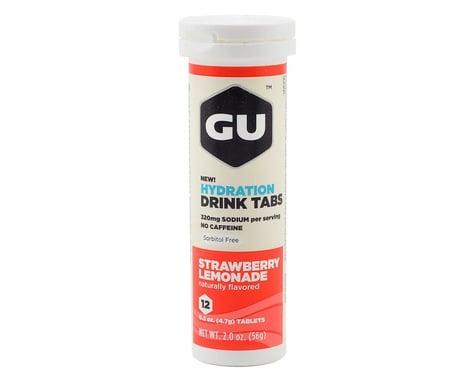 GU Hydration Drink Tablets (Strawberry Lemonade) (1 Tube)