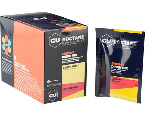 GU Roctane Energy Drink Mix (Lemon Berry) (10 2.3oz Packets)