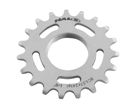 Halo Wheels Fixed Cog (Silver) (18T)