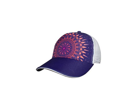 Headsweats Purple Haze 5-Panel Hat (Purple/White)