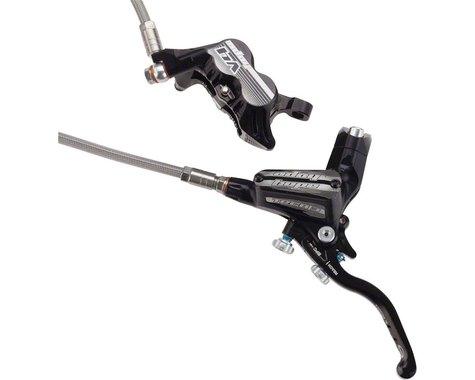 Hope Tech 3 V4 Hydraulic Disc Brake (Black) (Left/Front)