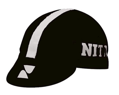 IDG Nitto Cycling Cap (Black/White) (One Size Fits Most)