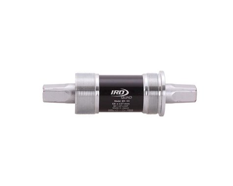 Interloc Racing Design QB55 JIS Bottom Bracket (Silver) (BSA) (68mm) (127.5mm)