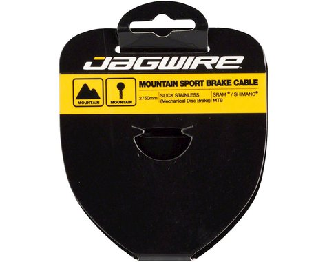 Jagwire Sport Tandem Mountain Brake Cable (Stainless) (1.5 x 2750mm) (1)