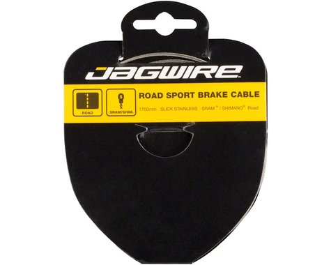 Jagwire Road Sport Tandem Brake Cable (Stainless) (1.5 x 2750mm) (1)