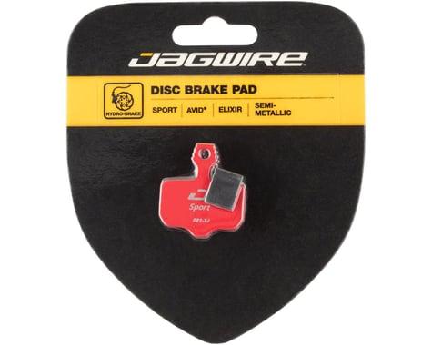Jagwire Disc Brake Pads (Avid Elixir R/CR1, Sram XO/XX) (Semi-Metallic)