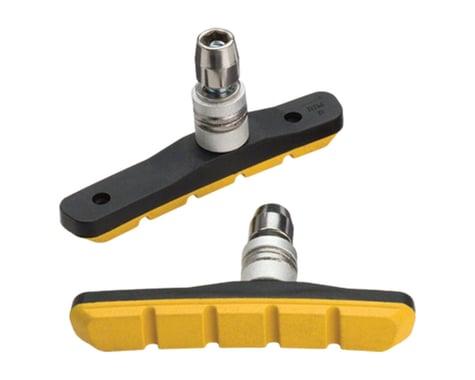 Jagwire Mountain Sport V-Brake Pads (Yellow) (Pair)